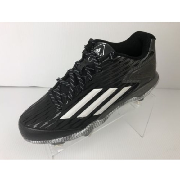 watch 2b345 4c238 Adidas PowerAlley 3 Metal Baseball Cleats